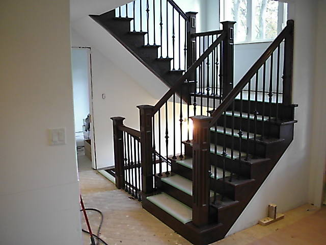 We Specialize In Residential Stairs And Railings For New Homes, Renovations  And Additions.